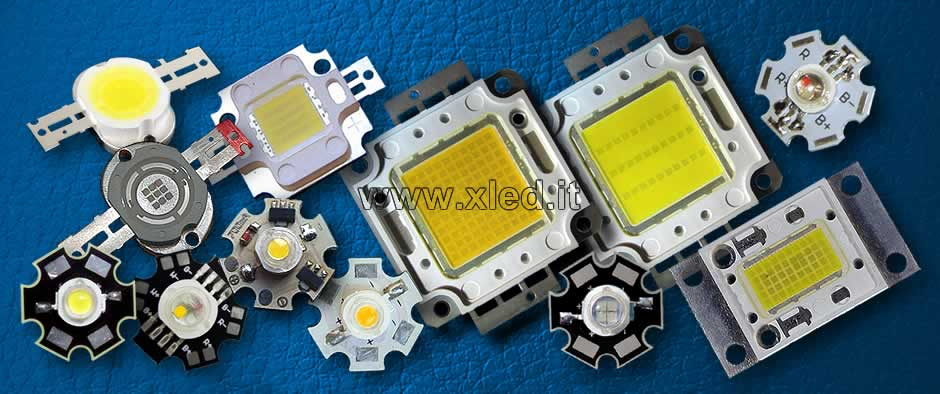 PowerLED, LED (smd), LED (thd), XLED